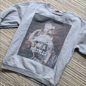 Rad Beyoncé diva quote sweatshirt